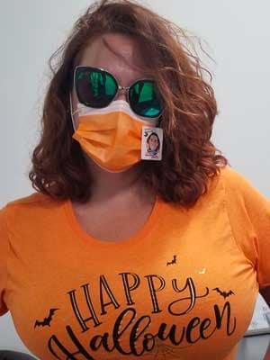 Mask Contest Sandra