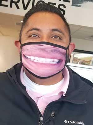 Mask Contest Scott in Sales