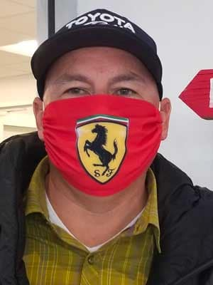 Mask Contest Joe Sales