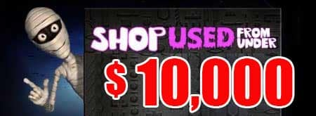 Halloween Special Shop Used for Under $10,000.