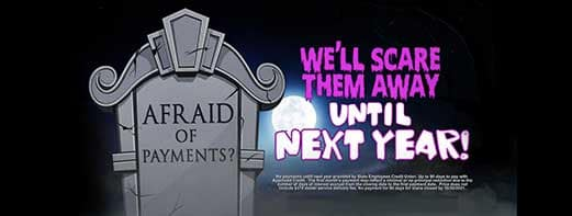 Scare Away Payments till Next year. SECU