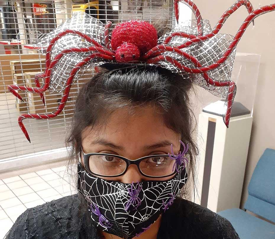 Sam's Spider Mask
