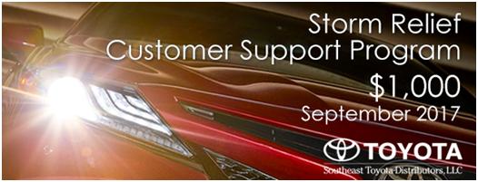 $1000 + $1000 Storm Relief - Customer Support Program*