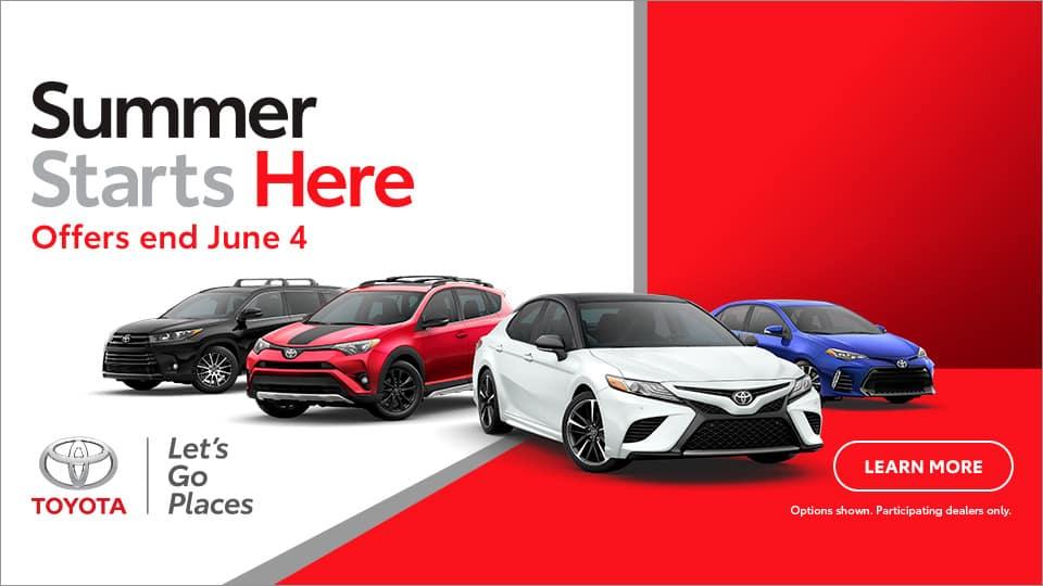 Summer Starts Here Sales Event