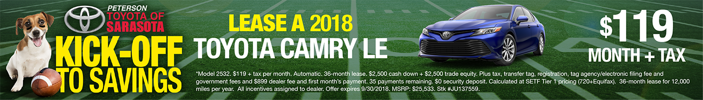 Toyota Camry Lease