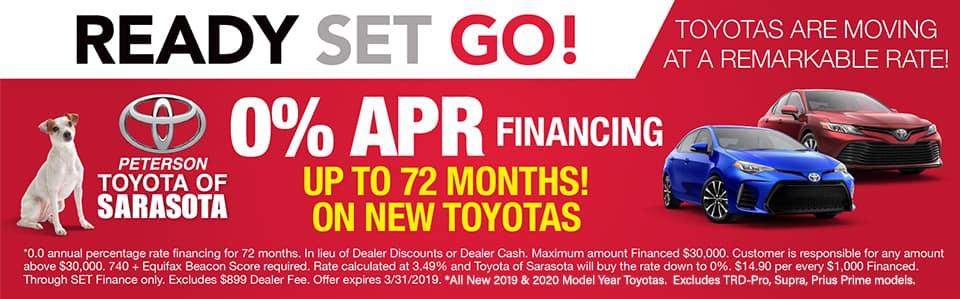 Sarasota APR New Toyotas