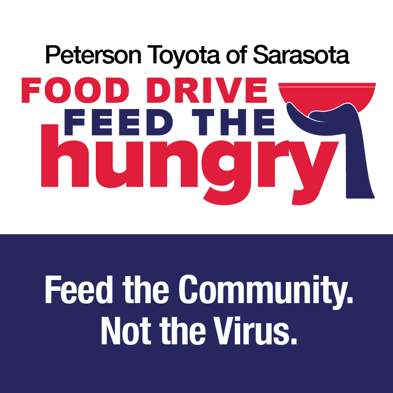 !Toyota of Sarasota FOOD DRIVE  FEED THE NEED!