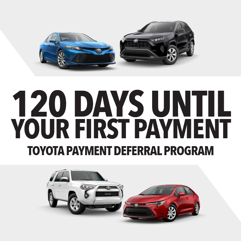 120 Days Until Your First Payment!