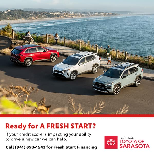 Ready for A FRESH START?  You Don't Need Good Credit to Drive a Great Car!