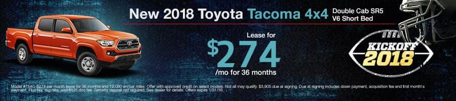 New 2017 Toyota Tacoma Special