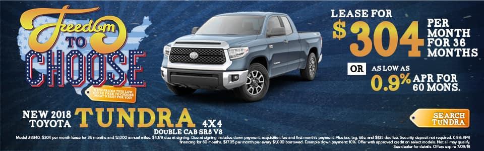 New 2018 Toyota Tundra York PA
