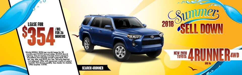 New 2018 Toyota 4Runner York PA