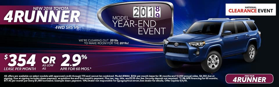 New 2018 Toyota 4Runner York PA