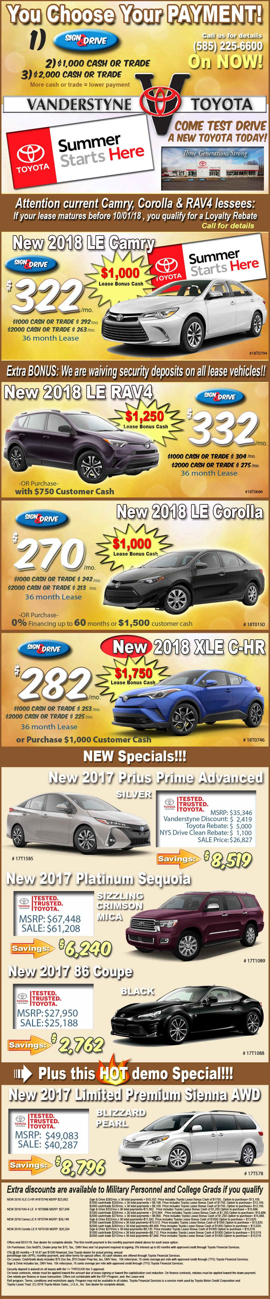 toyota st offers cloud camry specials lease