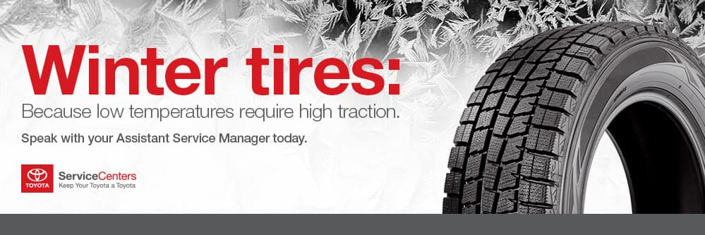 Benefits of Winter Tires | Vanderstyne Toyota