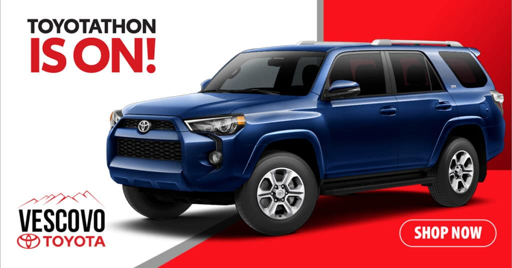 2018 Toyota 4Runner SR5 4x4 Lease Special