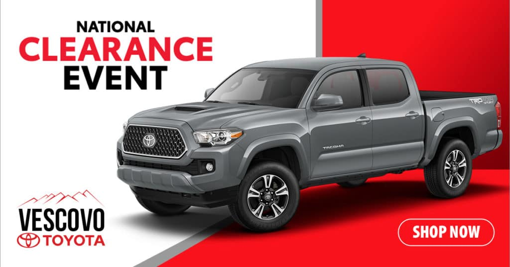 2019 Toyota Tacoma 4x4 Double Cab $3,650 Off MSRP