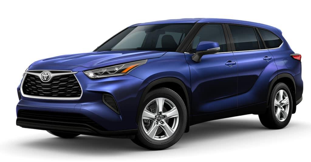 2021 Toyota Highlander $2,750 off MSRP