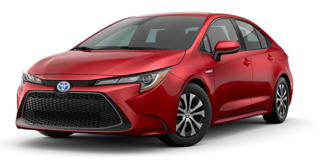 2021 Toyota Hybrid Corolla LE $21,390
