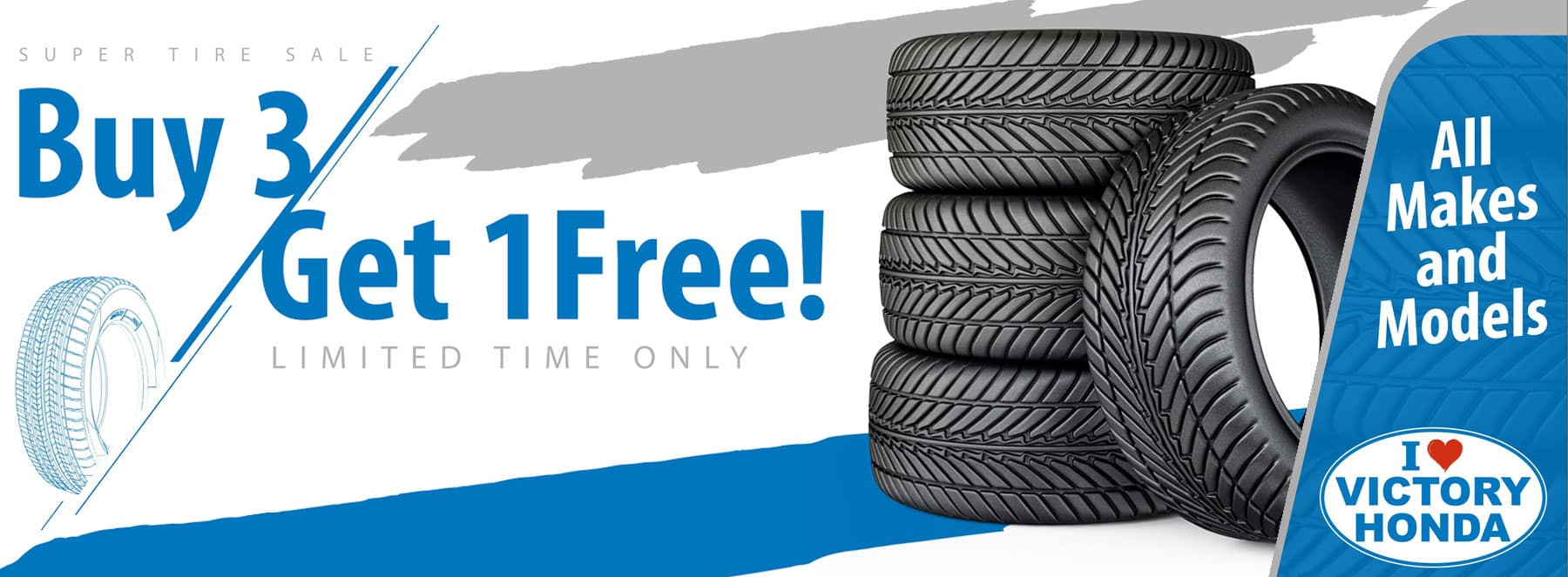 Super tire sale buy 3 get 1 free