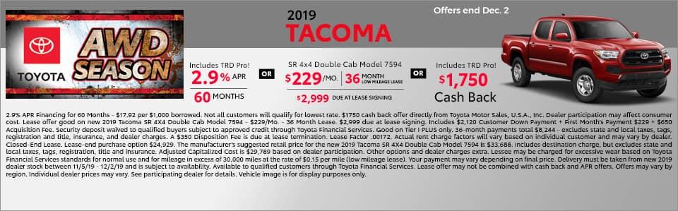 Tacoma Banner