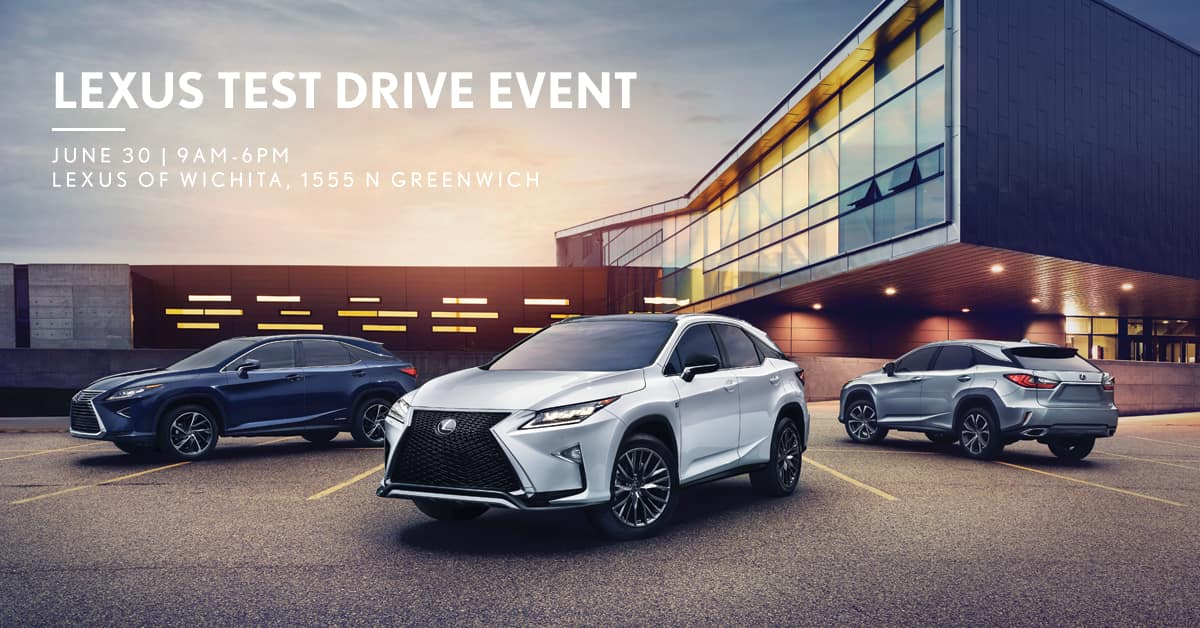Receive A $25 Lexus Accessories Gift Certificate With The Test Drive Of Any  New Lexus Model. Test Drive Participants Will Also Receive $1000 Off Our  Walser ...