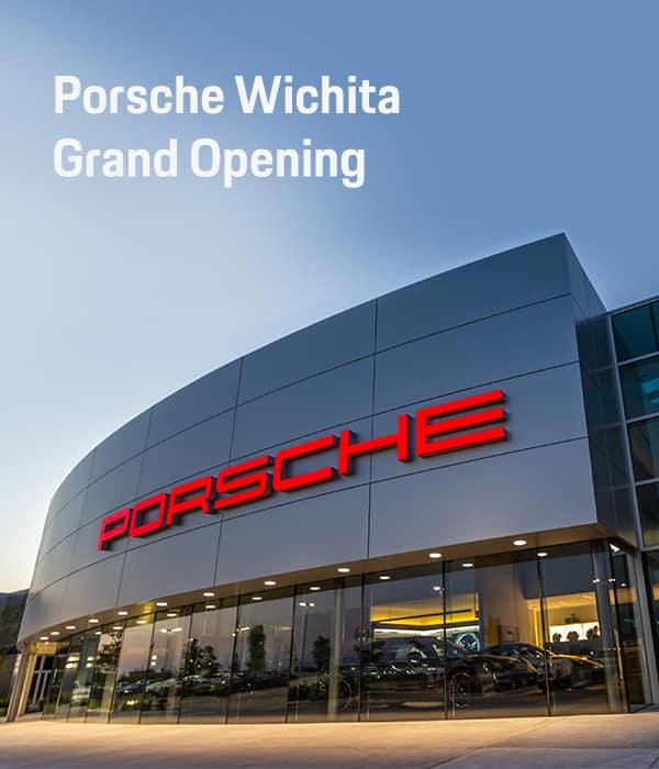 Porsche Wichita Grand Opening Header