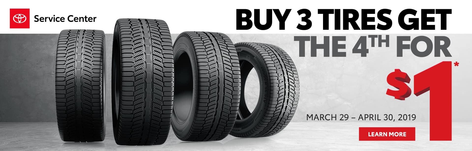 Toyota Tire Sale