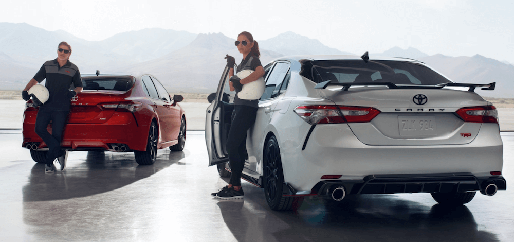 2020 Toyota Camry configurations banner