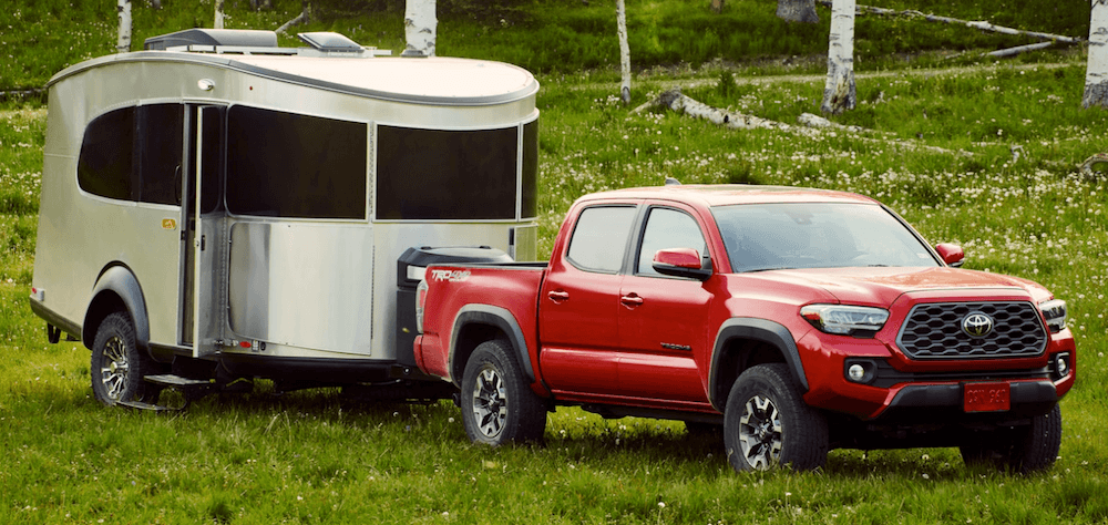 2021 Toyota Tacoma Towing Trailer