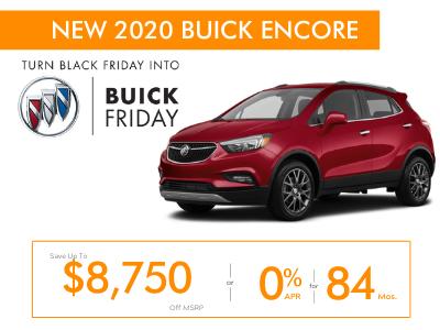New 2020 Buick Encore