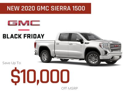 New 2020 GMC Sierra 1500