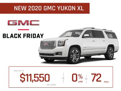 New 2020 GMC Yukon XL