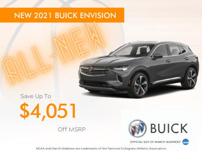 The All New 2021 Buick Envision!