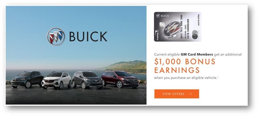 buick bonus incentive