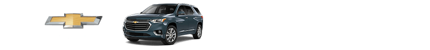 New Chevy Traverse Dealer near Terre Haute, IN.
