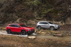 2019 Jeep Cherokee Latitude and Trailhawk