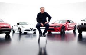 Sergio with Fiat Alfa Romeo Dodge Jeep brands