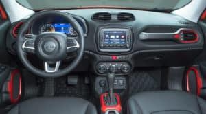 2018 jeep Renegade interior