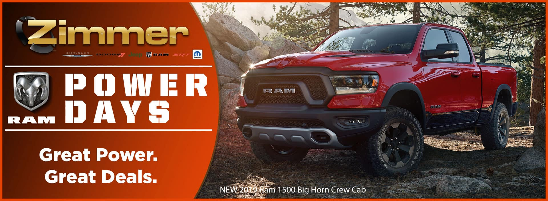 Ram Power Days at Zimmer Motors!