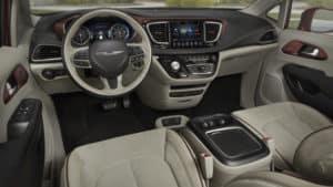 2017 Chrysler Pacifica dashboard
