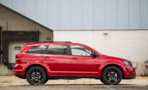 2018 Dodge Journey side view