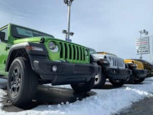 2019 Jeep Wranglers at Zimmer