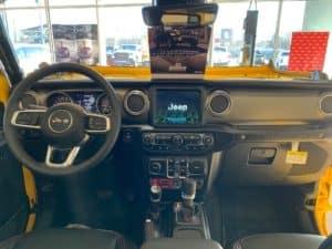 2019 Jeep Wrangler Rubicon dash