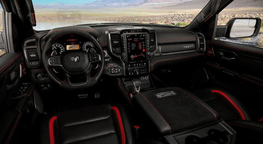 the 2021 ram 1500 trx is the safest truck on the road